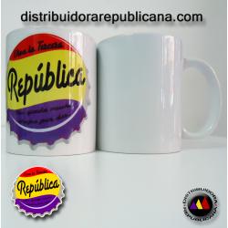 Taza Chapa Republicana