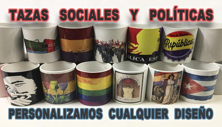 Tazas Sociales y Políticas