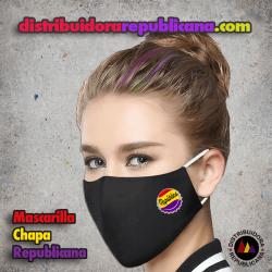 Mascarilla Chapa Republicana