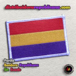 Parche Bandera Republicana Sin Escudo