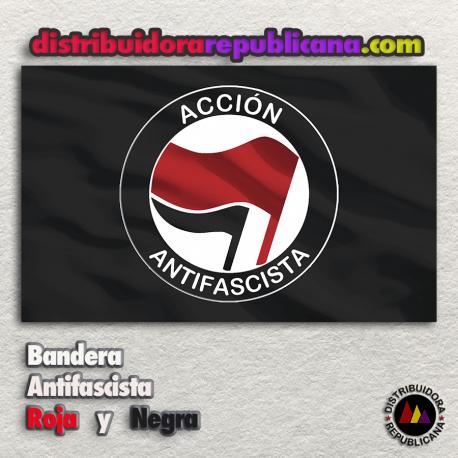 Bandera Acción Antifascista Roja