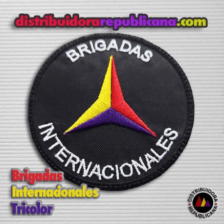 Parche Brigadas Internacionales Tricolor