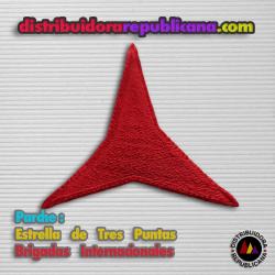 Parche de la Estrella de Tres Puntas de las Brigadas Internacionales