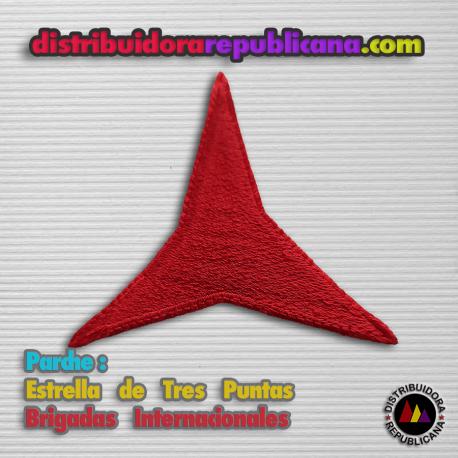 Parche de la Estrella de Tres Puntas de las Brigadas Internacionales,