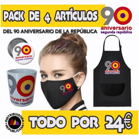 Pack 90 Aniversario de la República