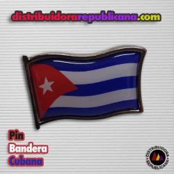 Pin Bandera Cubana