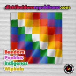 Bandera Pueblos Indígenas ( Wiphala )