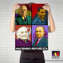 """Poster """"Haciendo República"""" - 50x70 cm"""