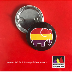 Chapa Elefante Republicano Gordo