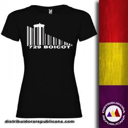 Camiseta Boicot - Mujer