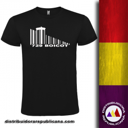 Camiseta Boicot - Hombre