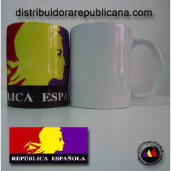 Taza República Española (alegoría)