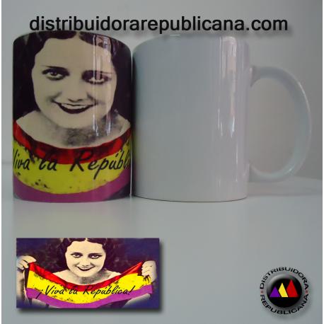 Taza Viva la República