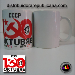 Taza Aniversario de la Revolución de Octubre