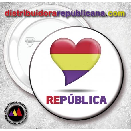 Chapa Corazón República