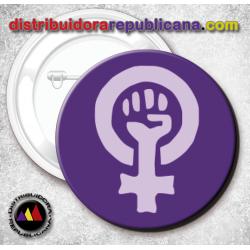 Chapa Símbolo Feminista