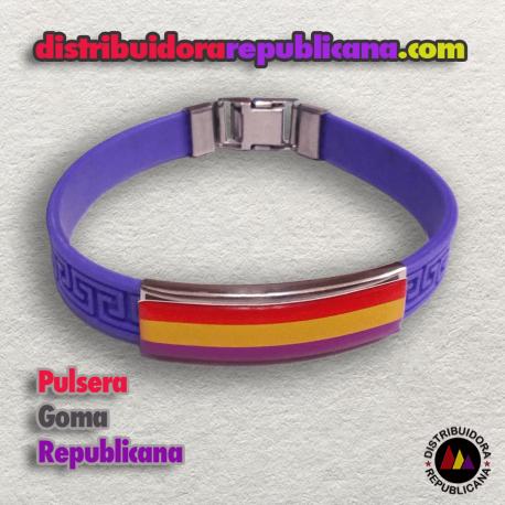 Pulsera Goma Republicana
