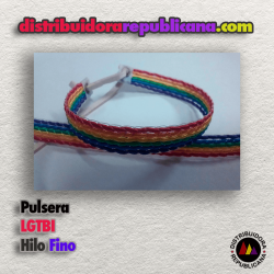 Pulsera LGTBI Hilo Fino