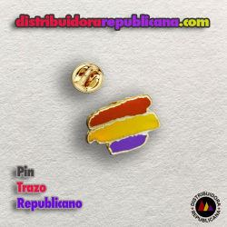Pin Republicano Trazos