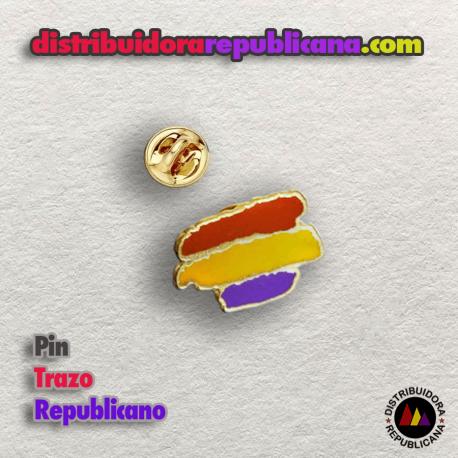 Pin Republicano Trazos