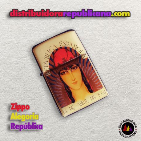 Zippo Alegoría Republicana