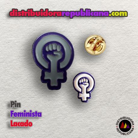 Pin Feminista Lacado