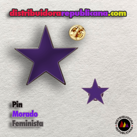 Pin Estrella Feminista