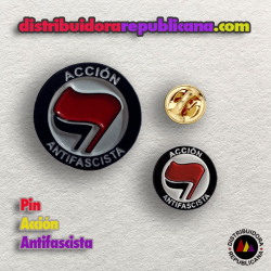 Pin Acción Antifascista