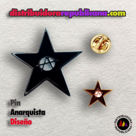 Pin Anarquista Diseño