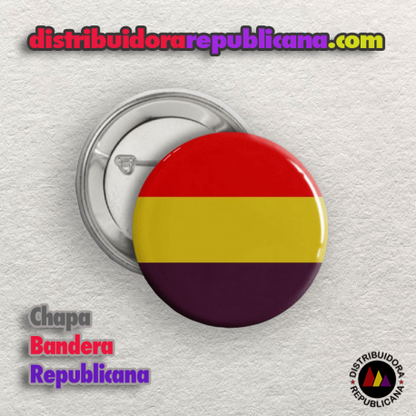 Chapa Bandera Republicana