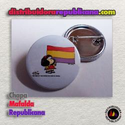 Chapa Mafalda Republicana