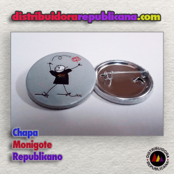 Chapa Monigote Republicano