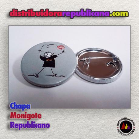 Chapa Monigote Republicano