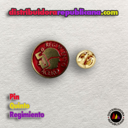 Pin Quinto Regimiento