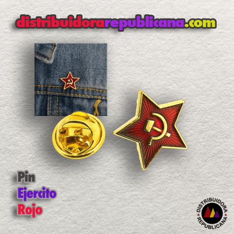 Pin Ejercito Rojo