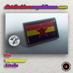 Pin Republicano Estrella