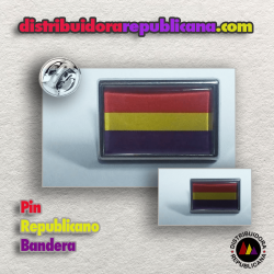 Pin Republicano Bandera