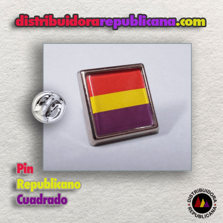 Pin Republicano Cuadrado