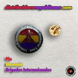 Pin Memoria Brigadas Internacionales