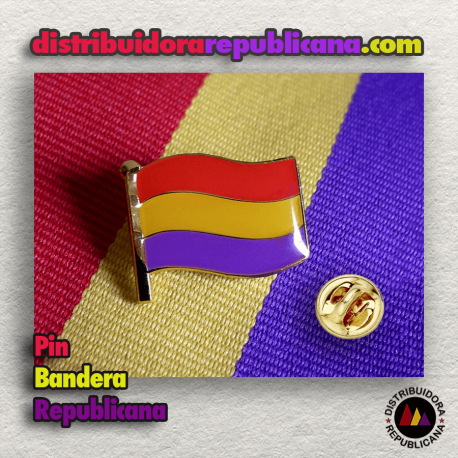 Pin Bandera Republicana