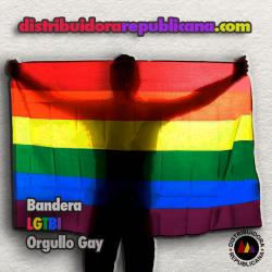 Bandera LGTB o del arcoíris