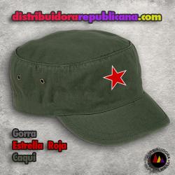 Gorra Estrella Roja