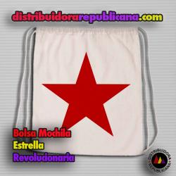 Bolsa Mochila Estrella Revolucionaria