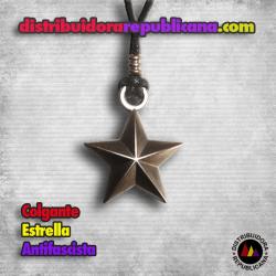 Colgante Estrella Antifascista