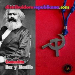 Colgante Comunista Hoz y Martillo