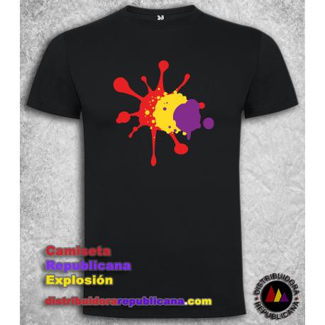 Camiseta Republicana Explosión