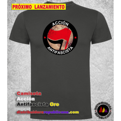 Camiseta Acción Antifascista Oro