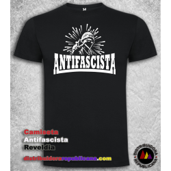 Camiseta Antifascista Rebeldía