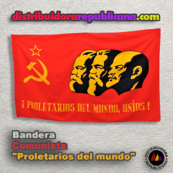 Bandera Proletarios del Mundo