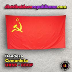 Bandera Comunista de la URSS - CCCP
